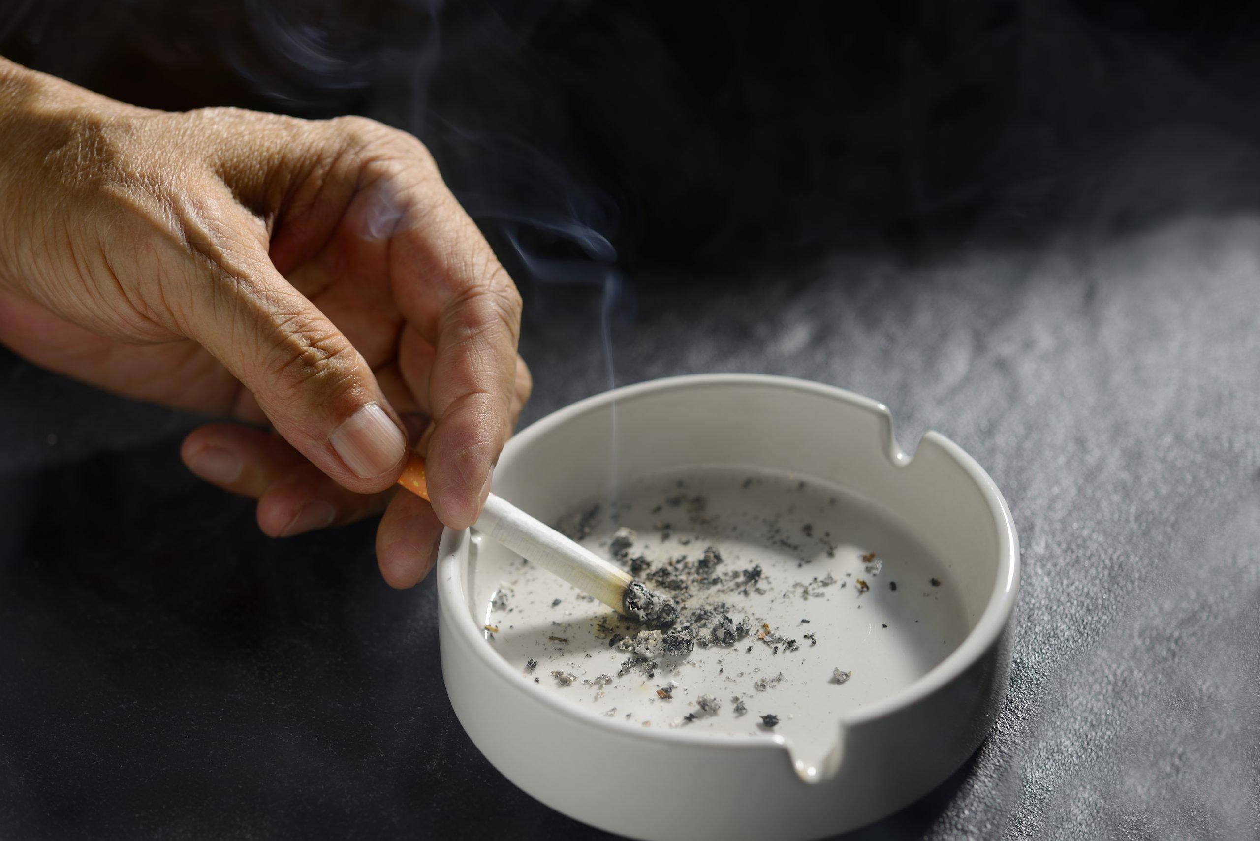 sigarette e ferite da decubito